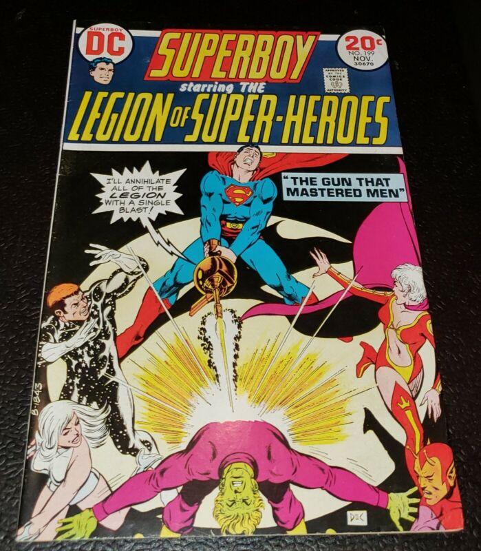 Superboy #199 8.0 VF