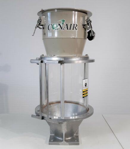 "Conair Direct Feed Glass Hopper, 10"" ID, w/ Loader Adaptor, 25 lb. Capacity"