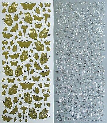 - Mini Butterflies Small Mixed Dots PEEL OFF STICKERS Butterfly Dot Cardmaking