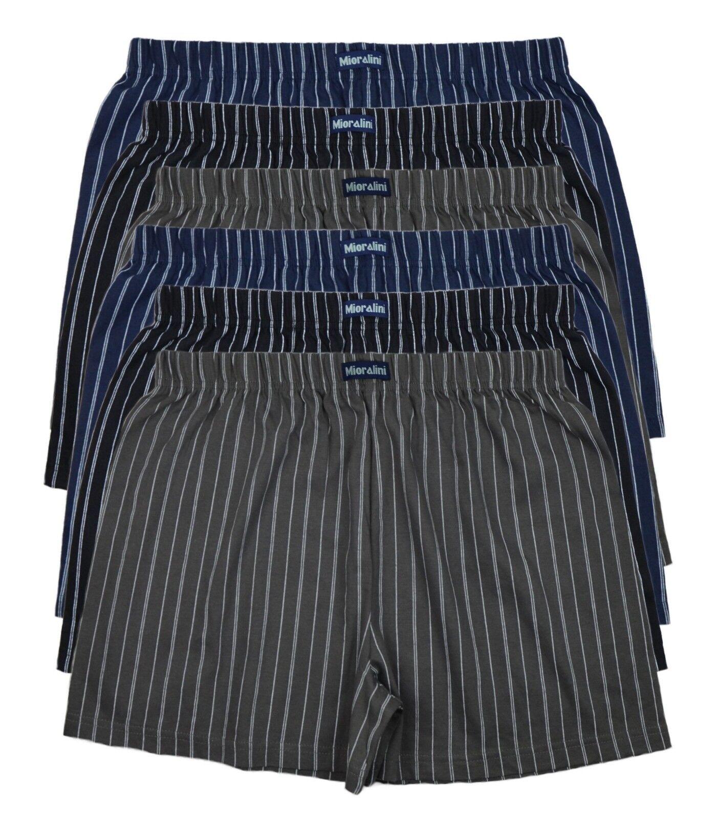 + 6 Boxer Shorts Herren Boxershorts Hipster Unterwäsche M L XL XXL 3XL WebBoxer