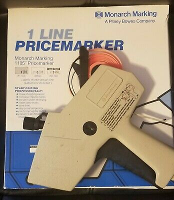 Monarch Marking 1 Price Marker 1105 And Labels