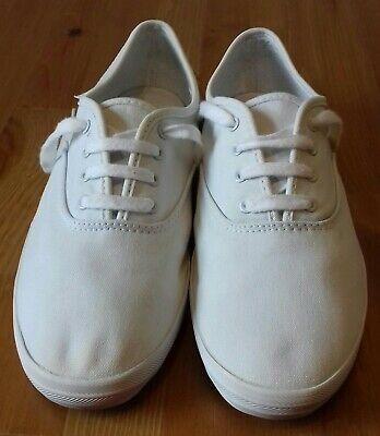 *Gorgeous* KEDS Classic WHITE UK7 EU40.5 Sneakers Trainers Pumps VGC