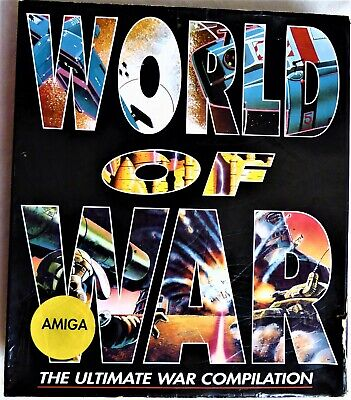 World Of War Amiga Internecine. Large Box With Instructions Strategy Commodore for sale  Shipping to Nigeria
