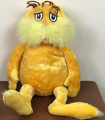Kohl's  Dr. Seuss The Lorax Book Character Doll Plush Stuffed Animal Kohls plush - Lorax Characters