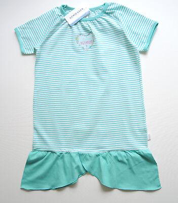 Schiesser Nachthemd Sleepshirt Mädchen türkis kleine Meerjungfrau Gr.104-140 NEU
