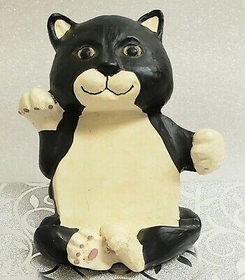 Business Card Holder Black Cat By Figi Graphics Vintage 1996