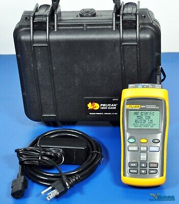Fluke Hart Scientific 1524-156 Calibration Reference Thermometer 2 Channels