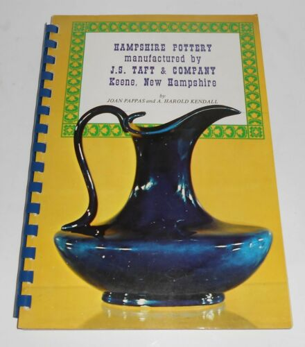 Hampshire Art Pottery 1971 First Edition Book