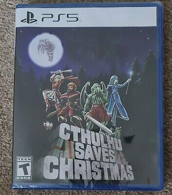 Limited Run PS5 #001 Cthulhu Saves Christmas