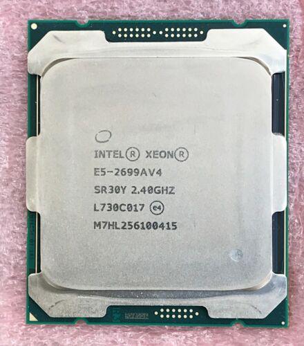 Intel Xeon E5-2699A V4 E5-2699AV4 2.40GHz 55MB 22 Core CPU Processor SR30Y