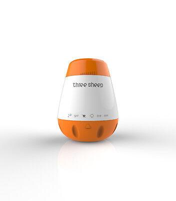 Smart USB Baby Sound Machine - Infant Noise Maker - Sleep Shusher Toy - 6 Sounds