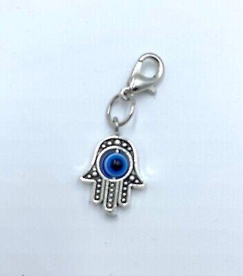 Amuleto De Mano De Fatima Hamsa Nazar Suerte Colgante Llavero Mal Ojo Amuleto