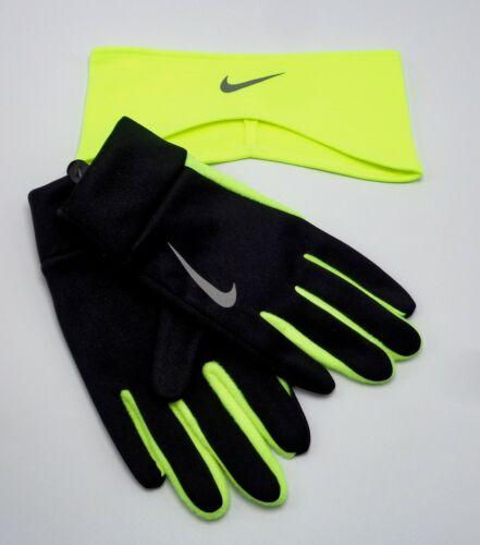 Nike Thermal Running Headband/Glove Set Men