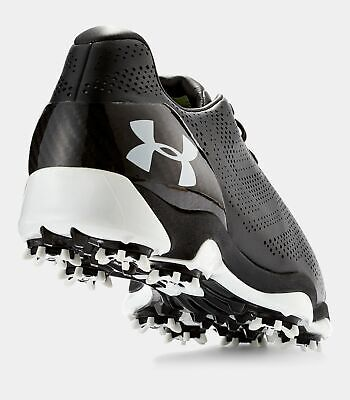 NEW Under Armour Men's UA Drive One Golf Shoes Black White $220