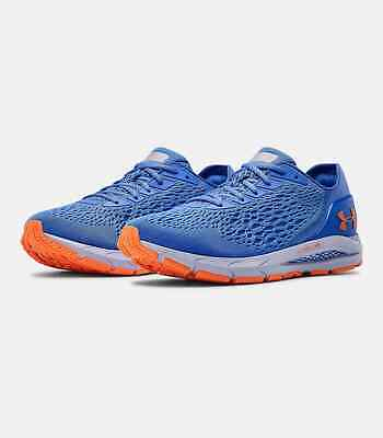Under Armour UA HOVR Sonic 3 Men's Running Shoes Water/Orange Spark 3022586-400