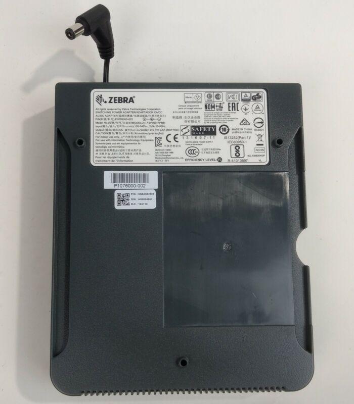 Zebra FSP060-RPBB 24V 2.5A Power Adapter for ZP450 ZP500 ZP505 GK420d