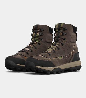 Men Under Armour UA Speed Freek Bozeman 2.0 Hunting Boots RR Forest Camo SZ 9.5