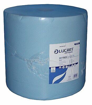 Putzrolle Industrierolle blau 36x36cm 3-lagig 1 Rolle á 1000 Blatt