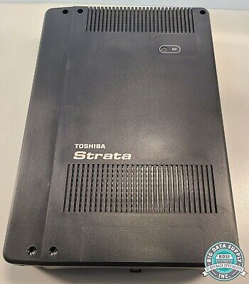 Toshiba Strata Cix40 Phone System Cabinet With Expansion Cards Pn Chsu40a