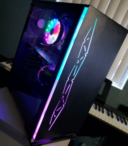 fully rgb gaming desktop pc i7 rx