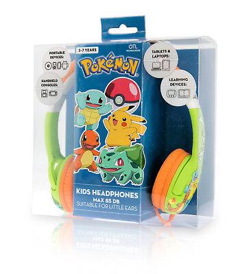 POKEMON Kid's Headphones - Kanto Headphones - Adjustable, for ages 3-7 years