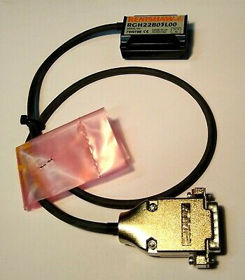 New Renishaw Rgh22b05l00a Optical Linear Encoder Read Head 0.5m Cable 1vpp 15w-d