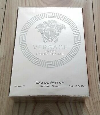 Versace VRETS33 Eros 3.4Oz Pour Femme  Eau De Toilette  For Women Spray 100ml