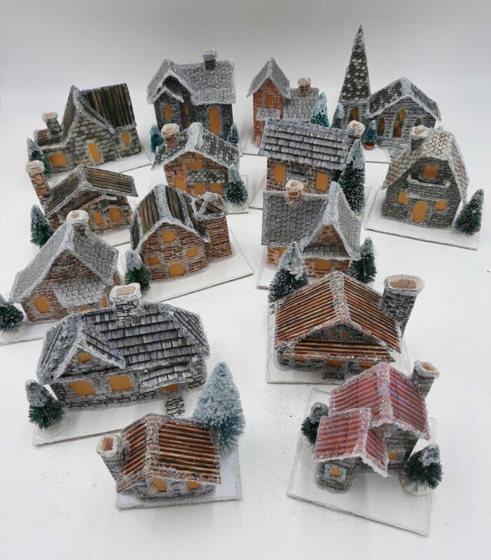 Choose Your Own Paper Putz House Village
