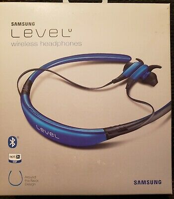Samsung Level U Bluetooth Wireless In-ear Headphones with Microphone, Blue new