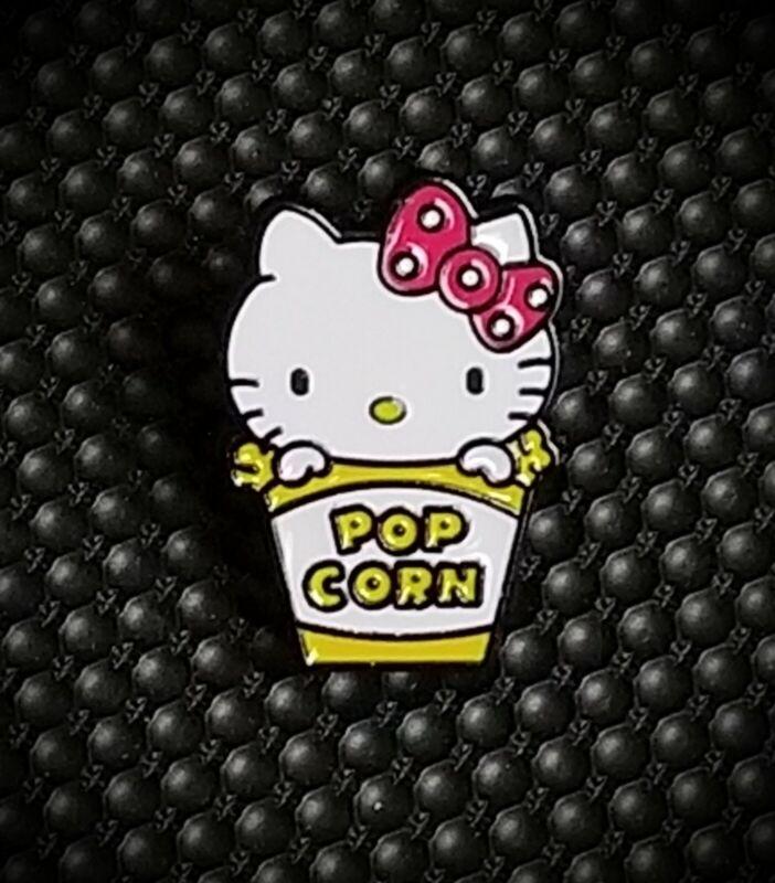 Hello Kitty Popcorn Enamel Pin