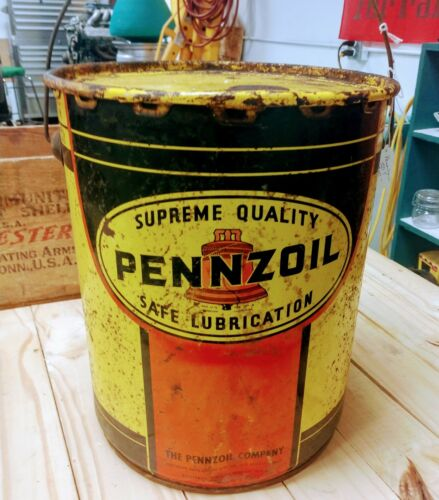 Pennzoil 5 gallon oil can