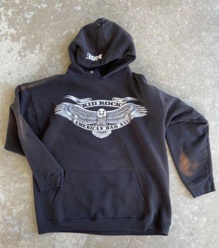 Kid Rock American Bad Ass Concert Hoodie Pocket Sweatshirt : XL - Extra Large