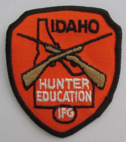 Vintage Original IDAHO HUNTER EDUCATION IFG Idaho Fish & Game PATCH