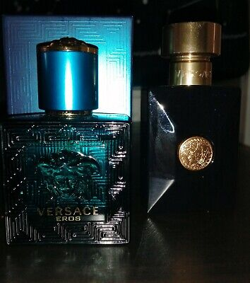 Versace Eros and Dylan Blue 30ml Travel Sprays (100% Authentic)