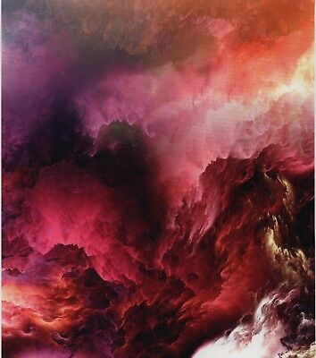 Hydro Dipping Water Transfer Hydrographic Film Cosmic Clouds 2 1sq