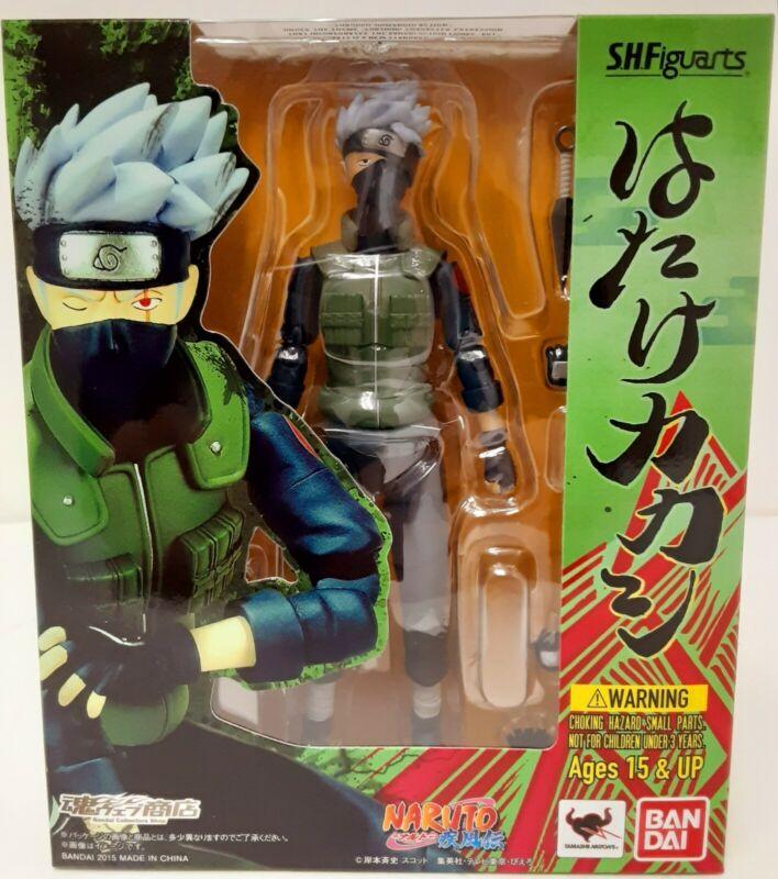 Authenic Naruto Bandai Tamashi Nations S.H.Figuarts Hatake Kakashi action figure