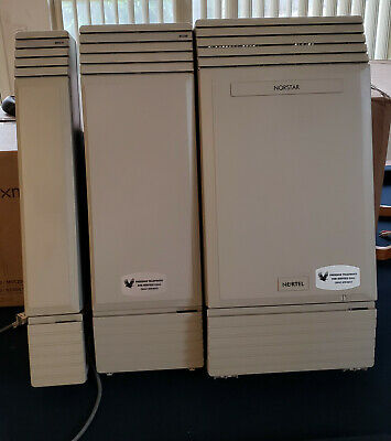 Nortel Norstar Mics Business Telephone System With 34 Phones