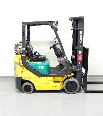 Nice Komatsu Fg18sht-20 3500 Lb Lpg Forklift 3500 Compact