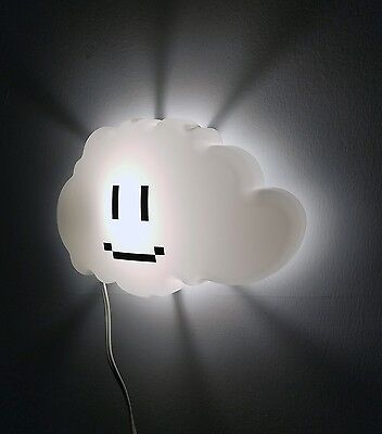 Super Mario Brothers Cloud Night Light, Nursery Decor, Geek Gift, Cloud Lamp (Super Mario Brothers Decorations)