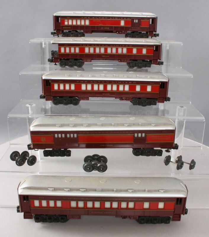 Lionel O Gauge Chicago & St. Louis Passenger Car Set