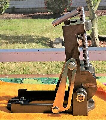 Vintage Machinist Angle Drillmilling Vise- Tiawan