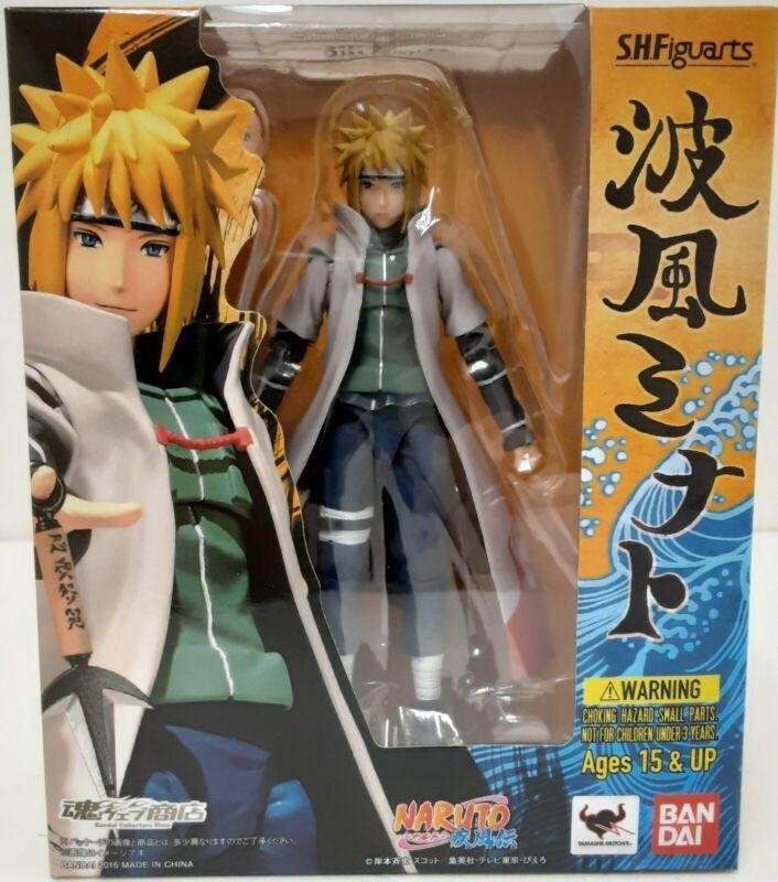 Authenic Naruto Bandai Tamashi Nations S.H.Figuarts Minato action figure