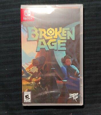 Broken Age limited jeu console NINTENDO SWITCH super rare run games