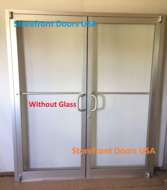 COMMERCIAL STOREFRONT DOOR, FRAME & CLOSER 6