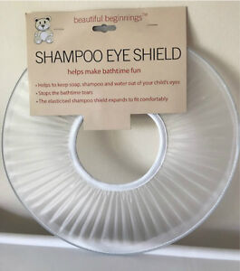 SHAMPOO SHIELD - BATH TIME EYE PROTECTOR - BABY/TODDLER/CHILD/KID-1ST CLASS POST