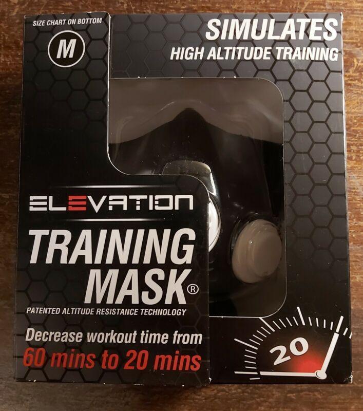 ELEVATION Athletic Training Mask - Simulates High Altitude - Size Medium NEW