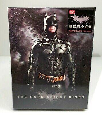 THE DARK KNIGHT RISES [2D + BD] Blu-ray STEELBOOK [HDZETA] DBL (The Dark Knight Rises Blu Ray Steelbook)