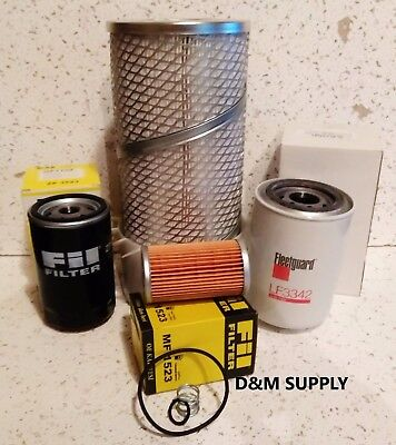 Tractor Maintenance Service Filter Kit To Fit Ford New Holland 1910 1920 2110