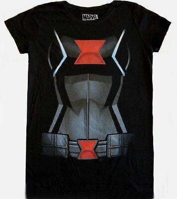 Disney Park Exclusive Avengers Black Widow 6-7 S T-Shirt Child girls New Costume](7s Costumes)