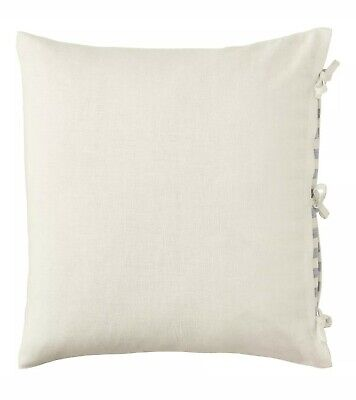 "New Ikea URSULA Pillow Cushion Cover 26"" x 26"" 100% Ramie Linen White"